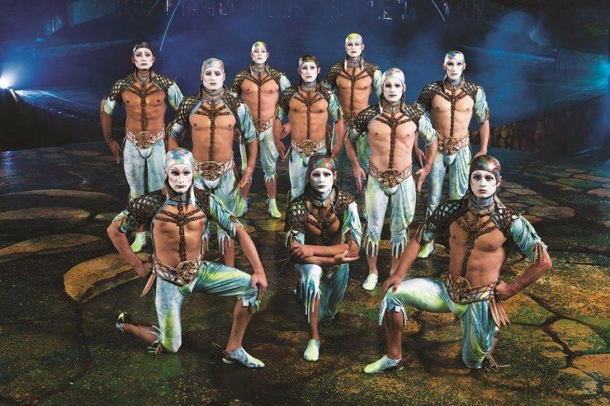 """Cirque du Soleil"" spektaklis ""Alegría"""