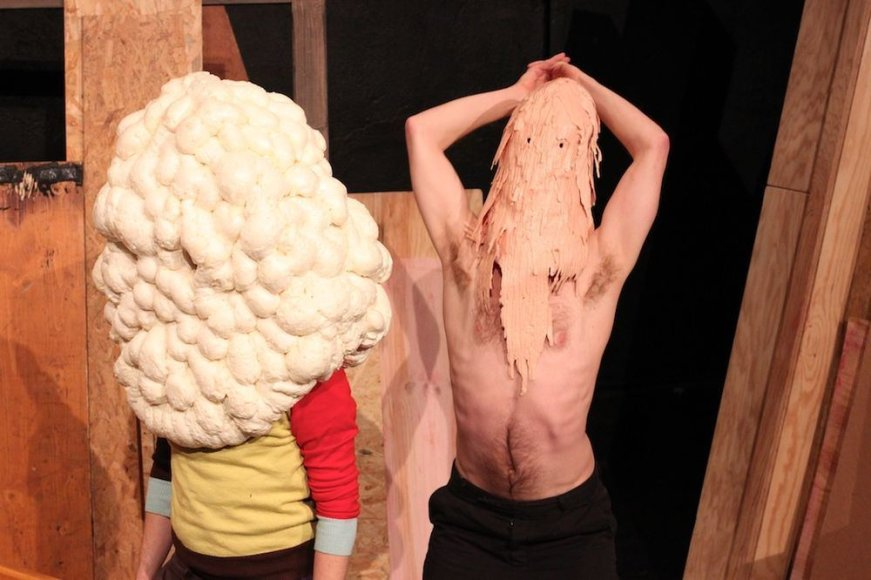 """Michelio Schroderio spektaklis """"Apie gyvenimo trumpumą"""""""