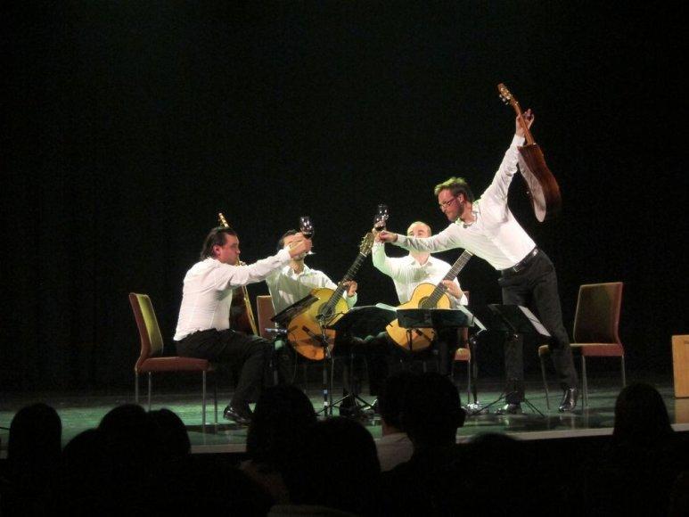 Baltijos gitarų kvarteto koncertas