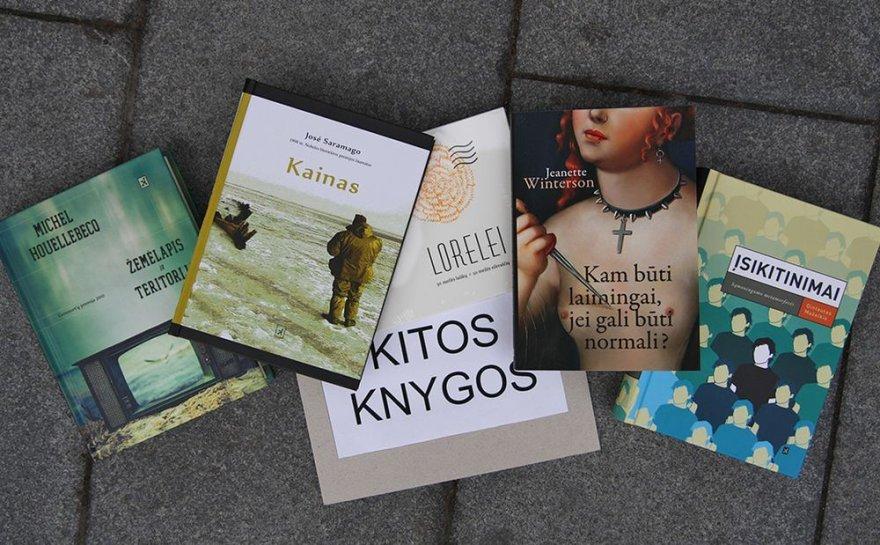 """Leidyklos """"Kitos knygos"""" naujienos Vilniaus knygų festivalyje"""