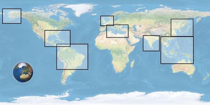 Pakrančių zonų žemėlapių korekcijos kylant vandens lygiui