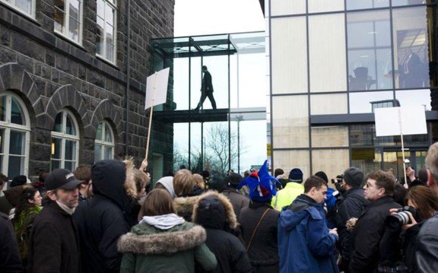 Protestas Islandijoje