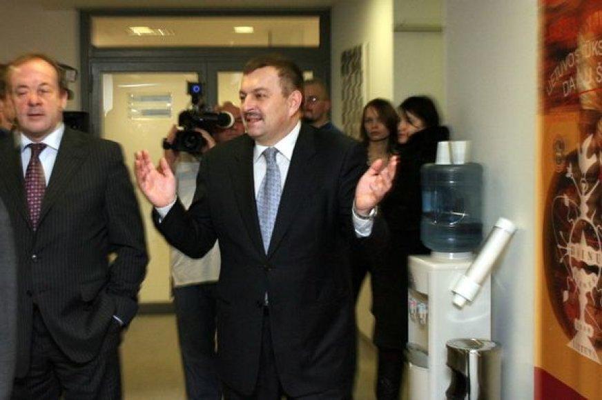 Naujasis Vilniaus meras Vilius Navickas