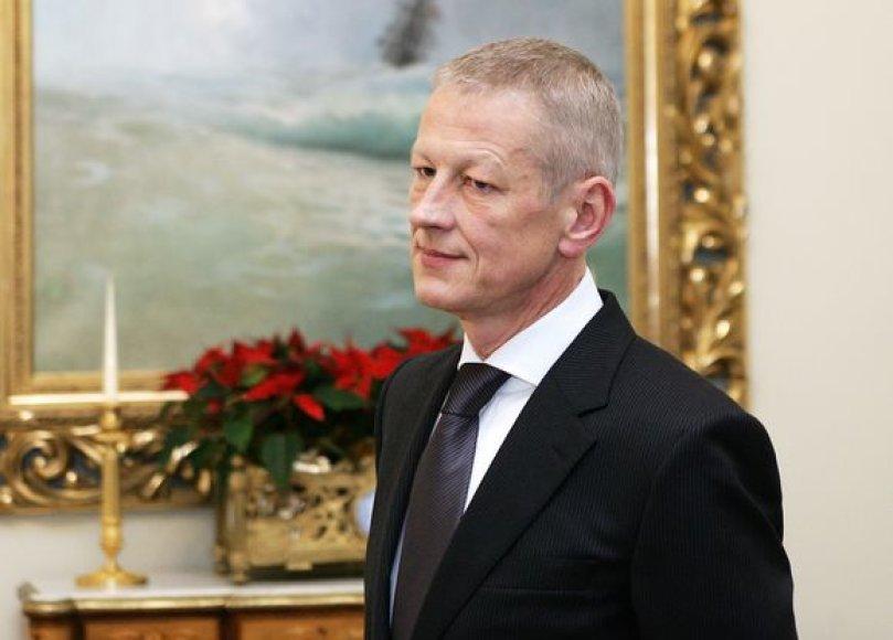 Gediminas Kazlauskas – aplinkos ministras