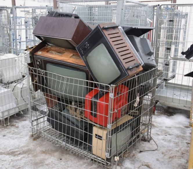 Kaune toliau renkama sena elektronika.