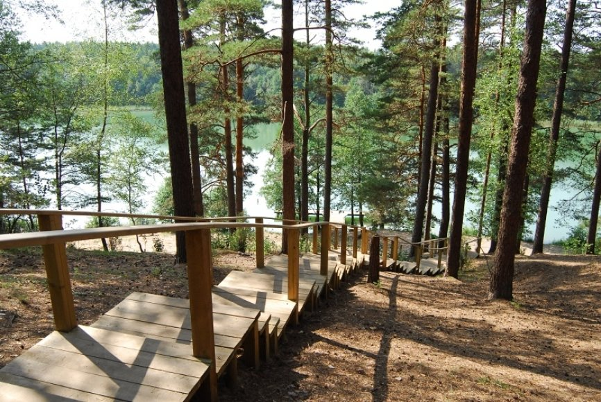 Sostinės valdžia nori gerinti aplink Vilnių esančių ežerų paplūdimių infrastuktūrą.