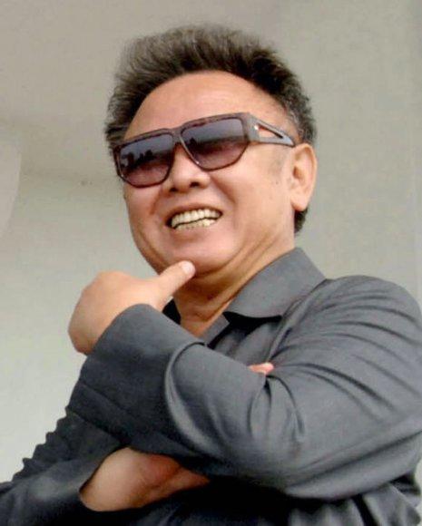 Šiaurės Korėjos lyderis Kim Jong-il.