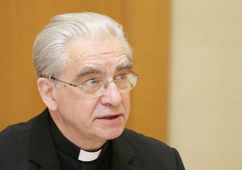 Kardinolas Audrys Juozas Bačkis.