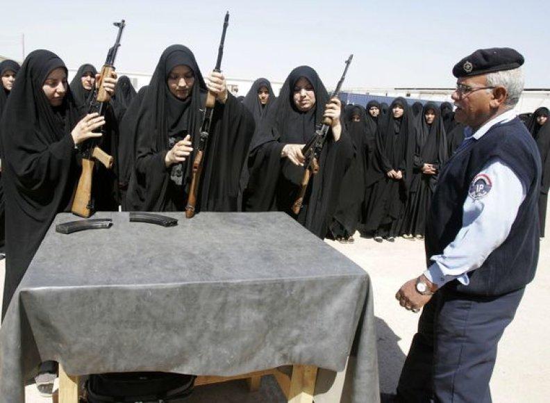 Irako policininkės