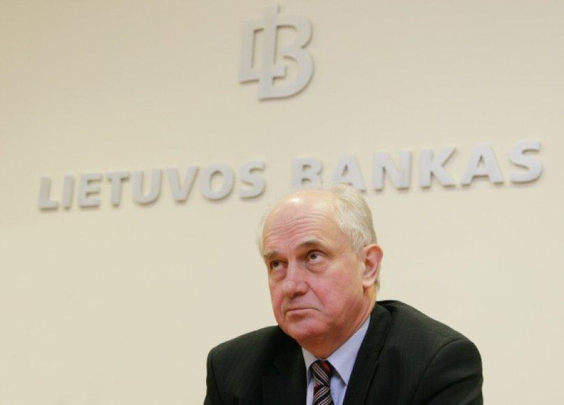 Buvęs Lietuvos banko valdybos pirmininkas Reinoldijus Šarkinas
