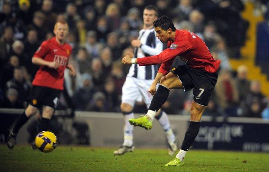 C.Ronaldo pelnė du įvarčius