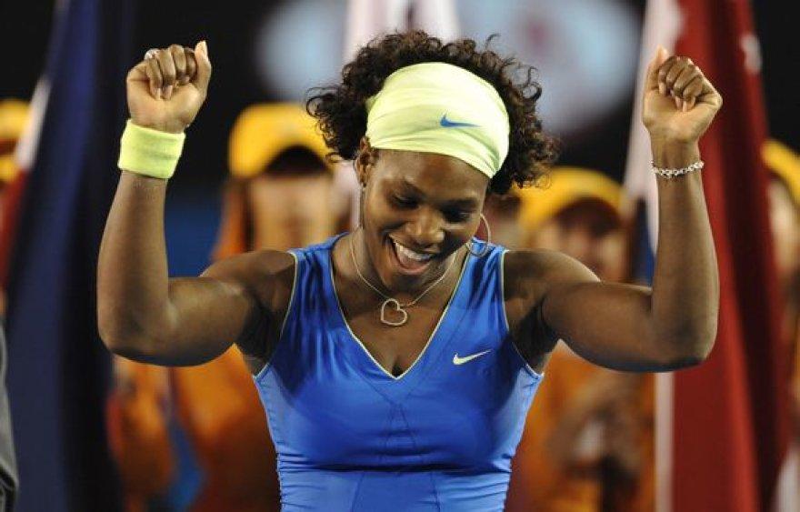 S.Williams pakilo į septintą geriausių tenisininkų sąrašo vietą