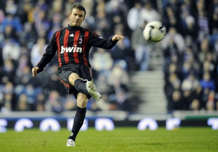 D.Beckhamas nenori palikti Milano