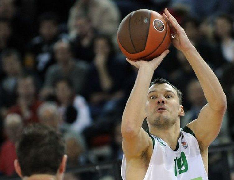 Š.Jasikevičius pelnė 15 taškų.