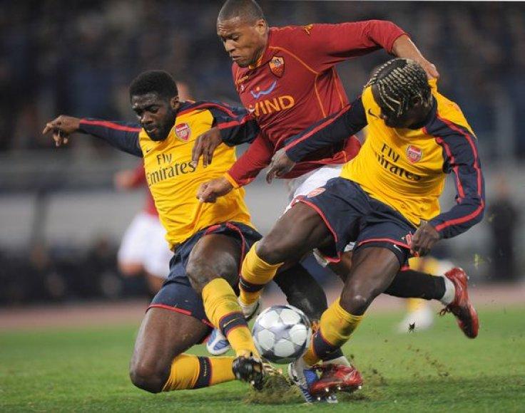 Paskutiniai iš turnyro pasitraukė Roma futbolininkai.