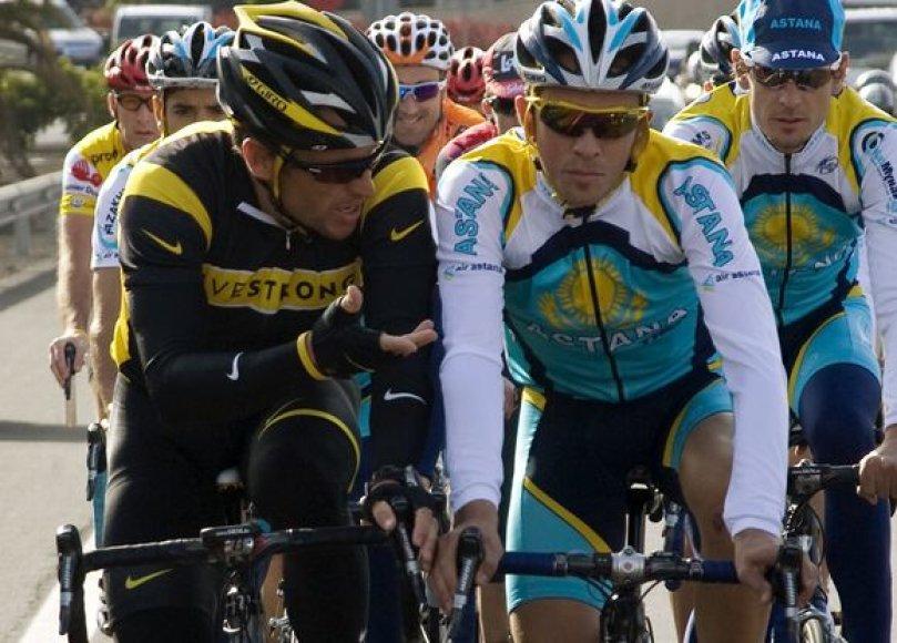 L.Armstrongas turi daug vertingų patarimų A.Contadorui.