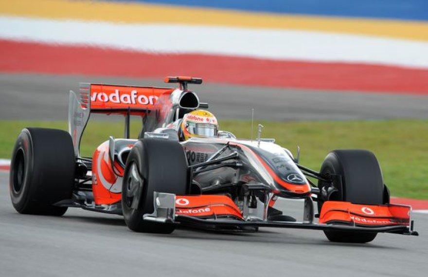 """""""McLaren"""" išvengė griežtos bausmės."""