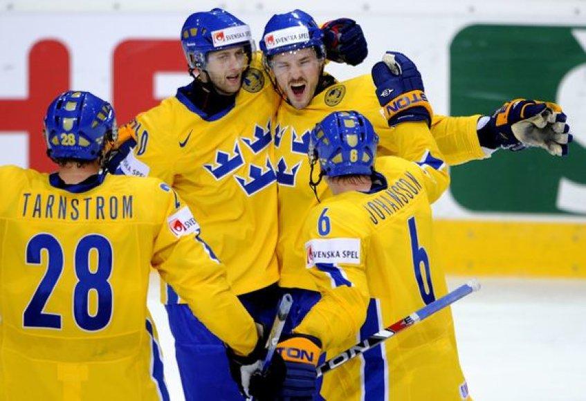 Švedams po pratęsimo pavyko įveikti JAV rinktinę.