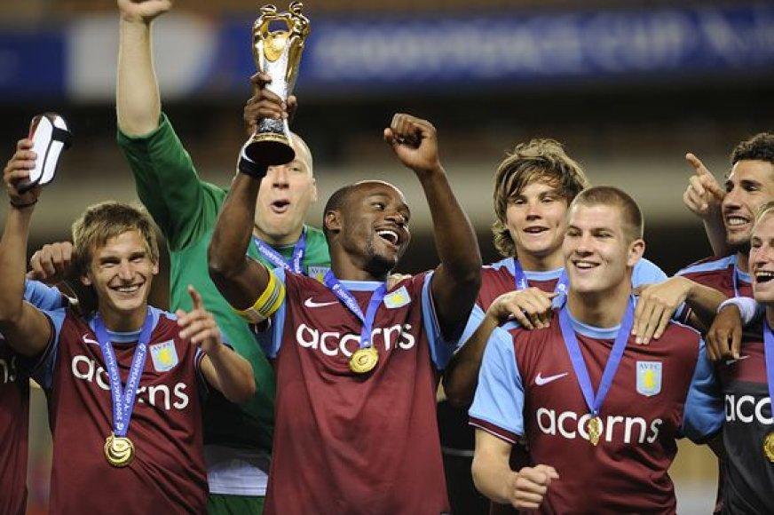 Anglijos klubo žaidėjų triumfas