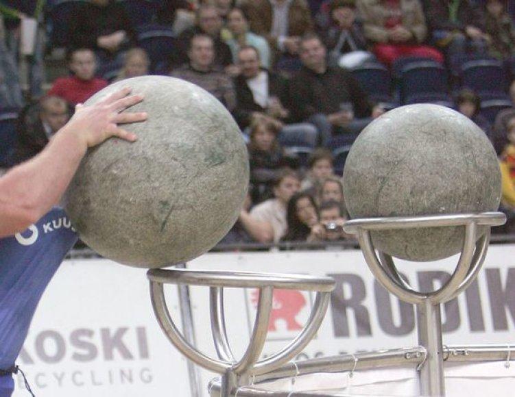 M.Lalas pagerino akmenų sukėlimo pasaulio rekordą
