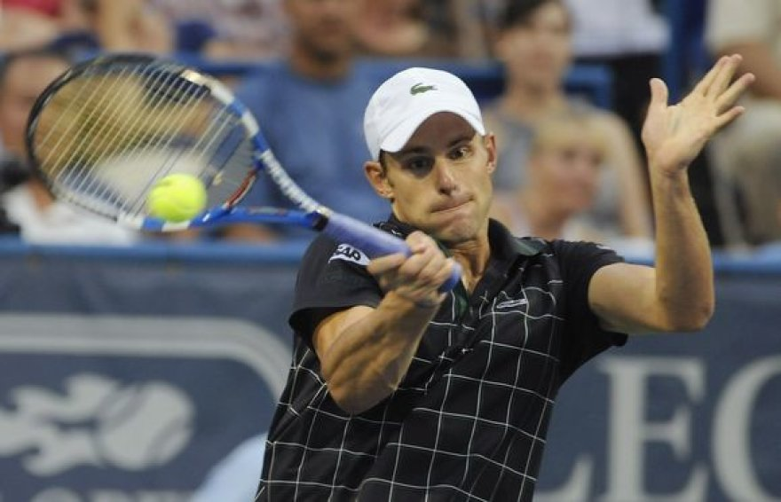 A.Roddickas Vašingtone siekia ketvirtojo nugalėtojo titulo