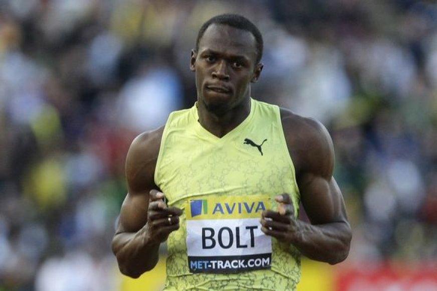 U.Boltas nori tapti legenda