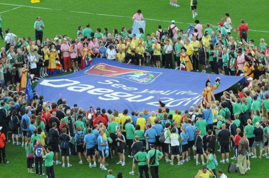 Pasaulio čempionatas 2011 metais vyks Pietų Korėjoje