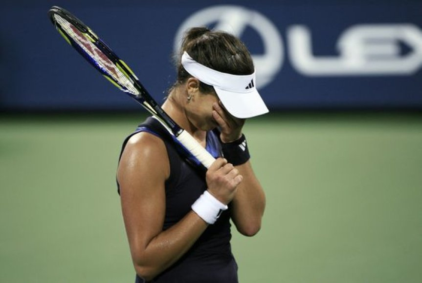 """A.Ivanovič baigė pasirodymą """"French Open"""" turnyre"""