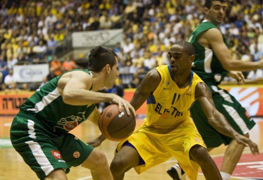 """""""Maccabi"""" išsiskyrė gera gynyba"""