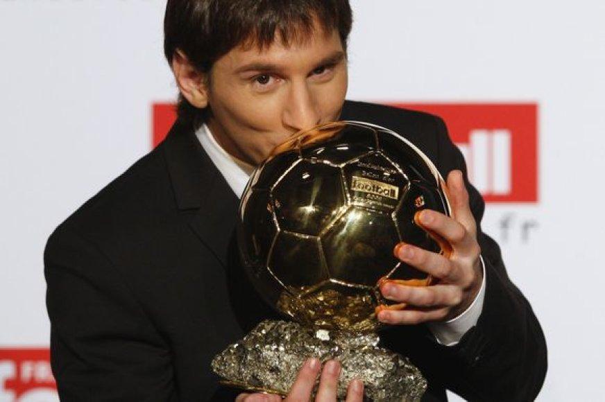 Vienas iš geriausio pasaulio futbolininko rinkimų favoritų – L.Messi
