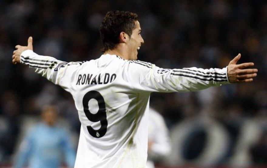 C.Ronaldo - greičiausias pasaulyje futbolininkas