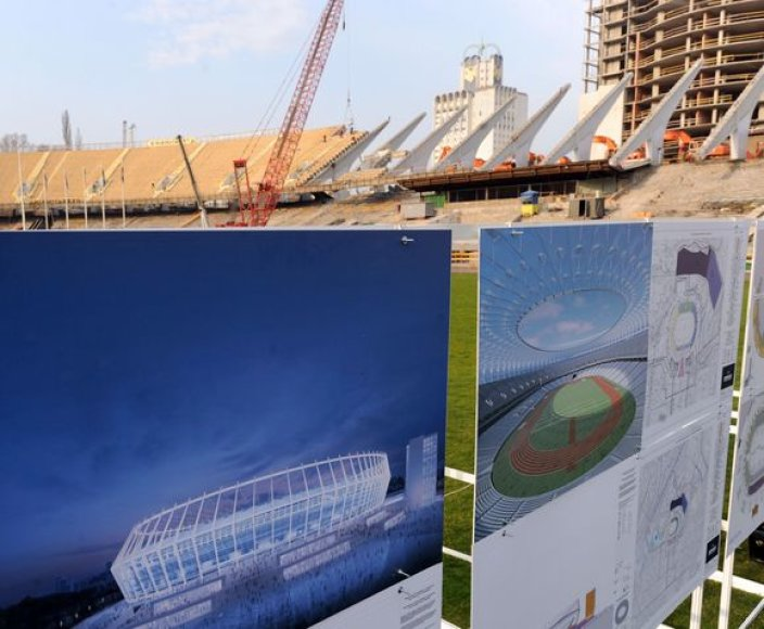 Kijevo stadione vyks Europos čempionato finalas