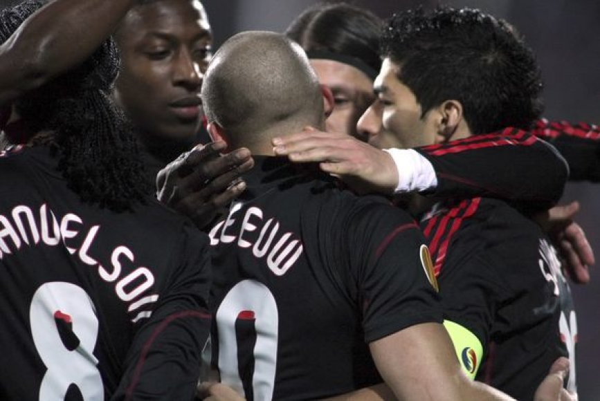 """""""Ajax"""" solidžia persvara įveikį varžovus"""