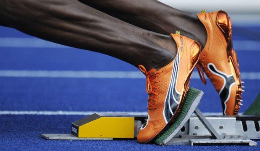 Šįmet lengvosios atletikos bėgimo takelyje išsiskyrė U.Boltas