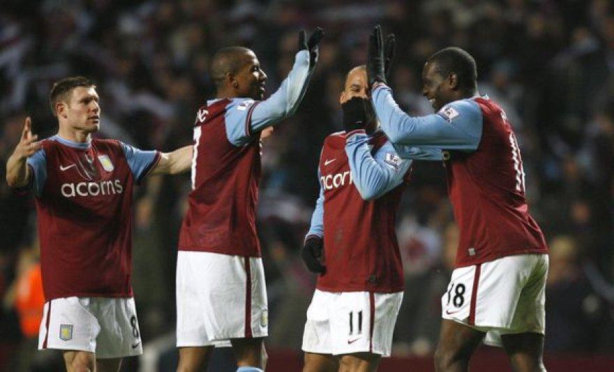 """Rezultatyviose rungtynėse pergalę šventė """"Aston Villa"""""""