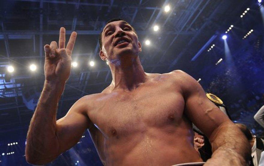 V.Kličko savo varžovą vadino geriausiu JAV boksininku