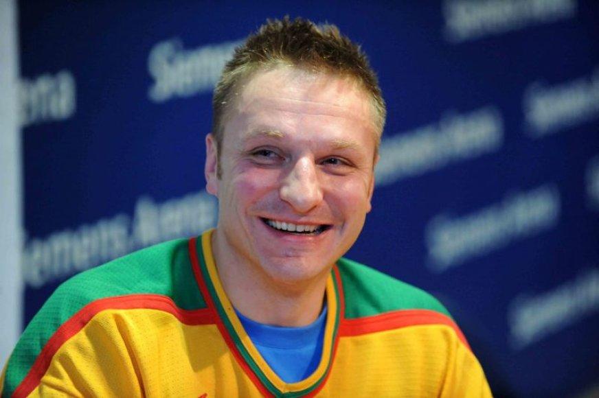 D.Kasparaitis šį sezoną jau dirba ASK treneriu