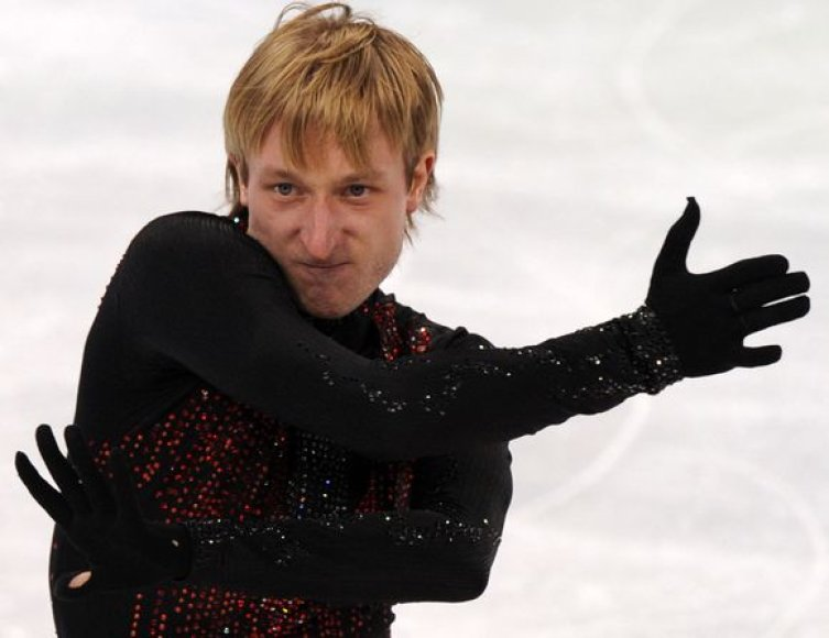 Jevgenijus Pliuščenka turėjo tenkintis olimpiados sidabru