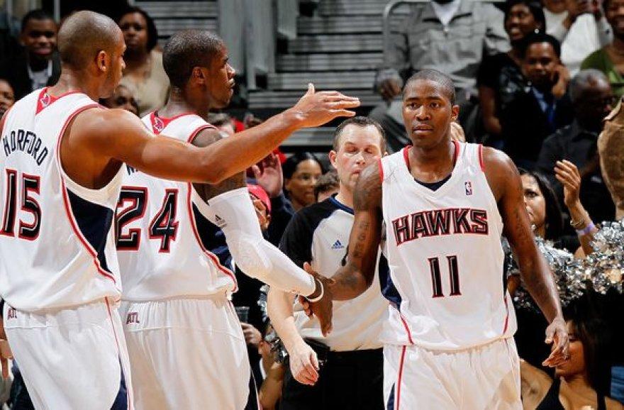 """""""Hawks"""" Jutoje laimėjo po beveik 17 metų pertraukos"""