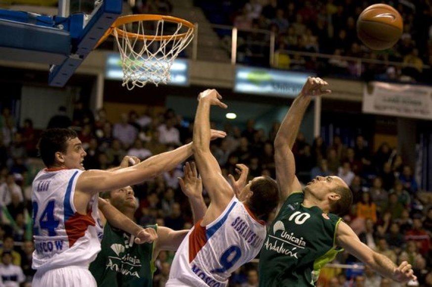 CSKA nesuklupu Malagoje