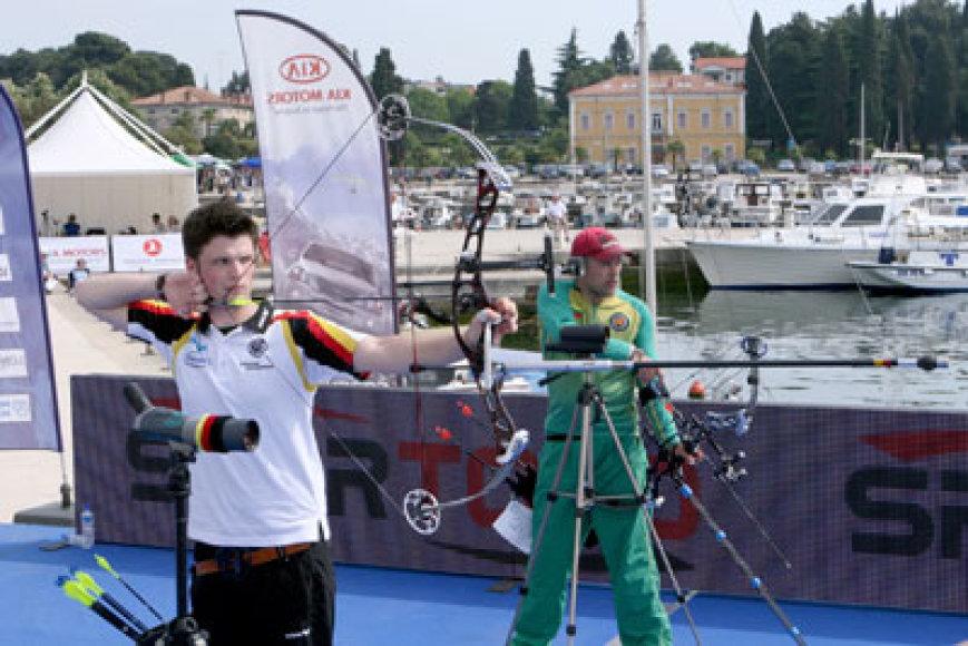 Šaudymio iš lanko Europos čempionate dalyvauja keturi lietuviai