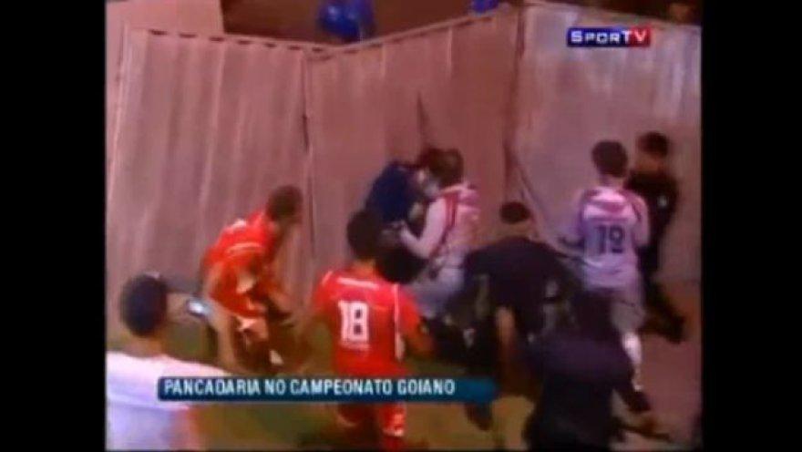 Futbolininkų muštynės sus sirgaliais