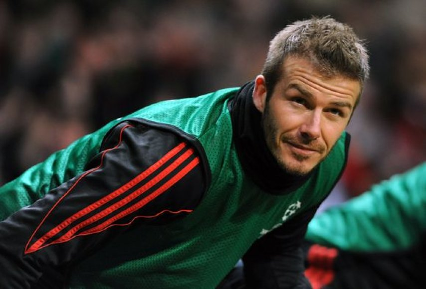D.Beckhamas turi galimybę stebėti pasaulio čempionatą nuo atsarginių suolo