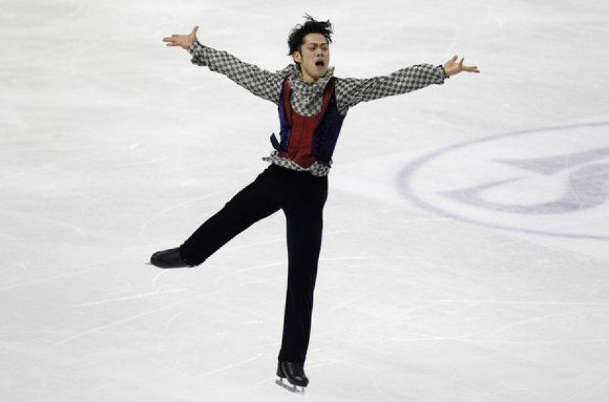 Japonas Daisuke Takahashis Turine iškovojo aukso medalį