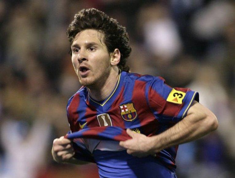 """Anot D.Maradonos, L.Messi turėtų """"sprogti"""" pasaulio čempionate"""