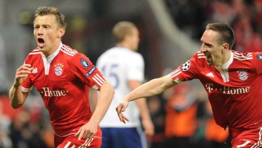 Du rungtynių herojai - I.Oličius ir F.Ribery