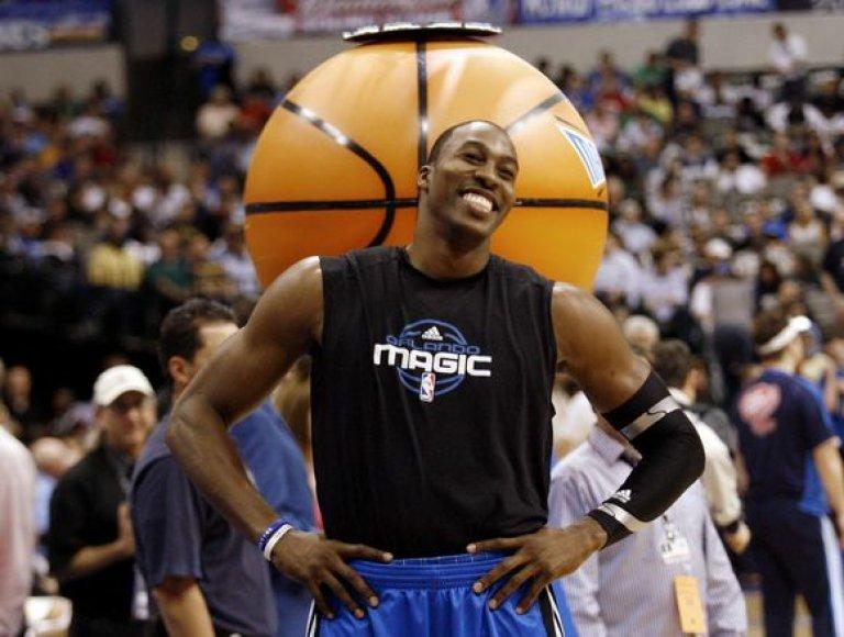Orlando ekipos lyderis D.Howardas turi pagrindo šypsotis