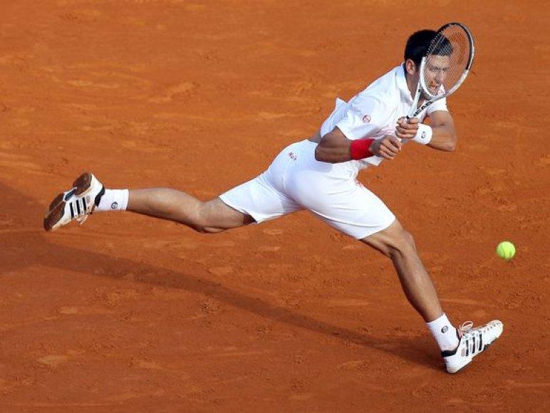 N.Djokovičius laikomas turnyro favoritu