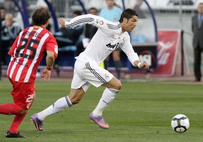 C.Ronaldo pelnė išlyginamąjį įvartį