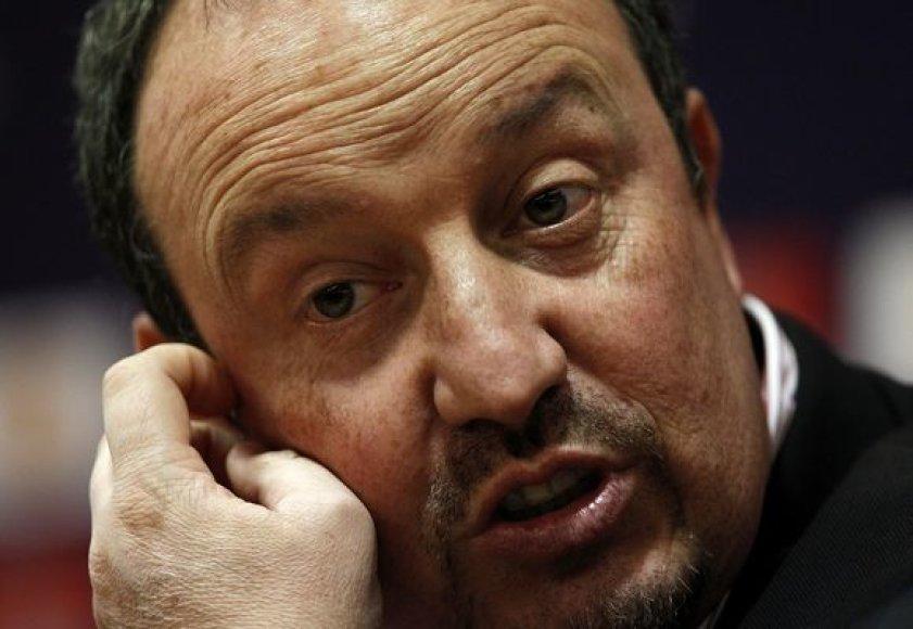 R.Benitezas nenorėjo kalbėti apie savo ateitį komandoje